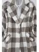 Single Button Jacket -Mink color