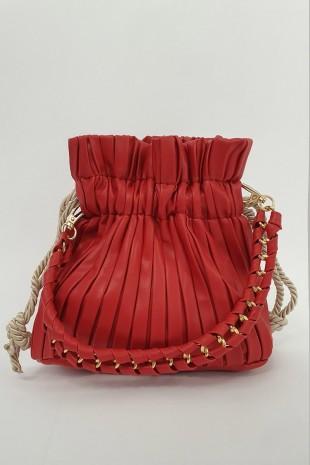 Kese Kadın Çanta -Kırmızı