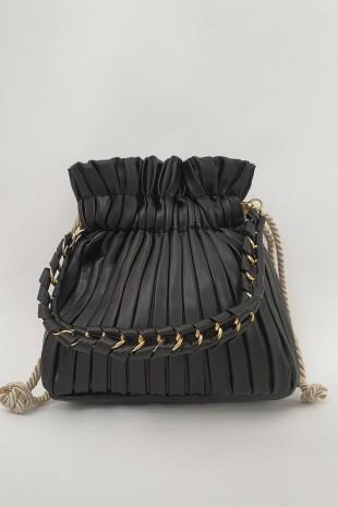 Kese Kadın Çanta -Siyah