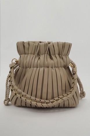 Kese Kadın Çanta -Bej