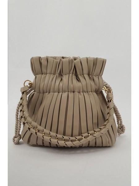 Women's Bags - Beige