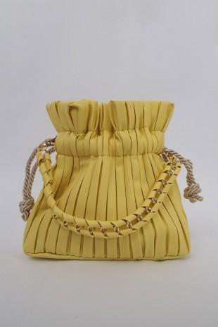 Kese Kadın Çanta -Sarı