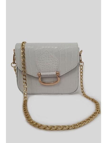 Magnet Women Bag -White