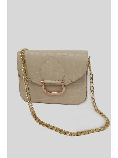Magnet Women Bag -Cream color