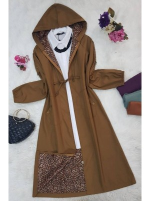 Trench coat -Mink color