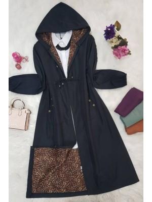 Trench coat -Black