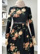 Arched Dress -Black