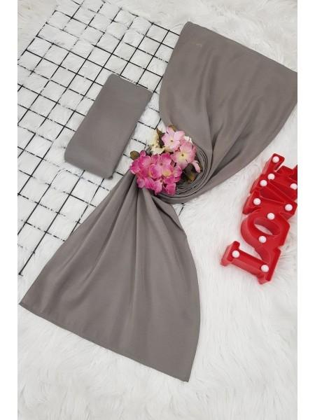 scarf     -Grey