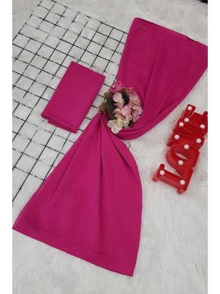 scarf -Fuchsia