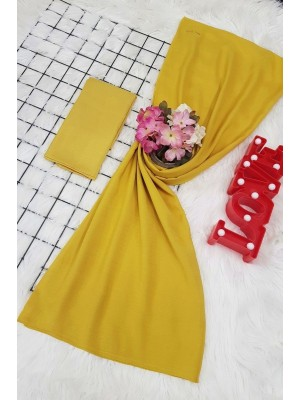 scarf -Yellow
