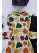 Women's Patterned Scuba Suit -Stone