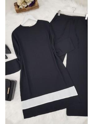 Double Color Ayrobin Set -Black