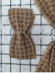 Icon Printed Thin Scarf - Beige