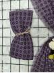 Icon Printed Thin Scarf - Purple