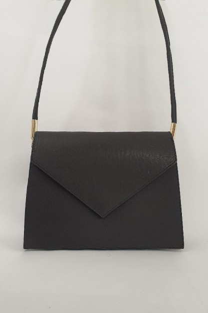 Askılı Kadın Çanta -Siyah
