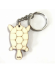 Wooden Turtle Keychain -Color