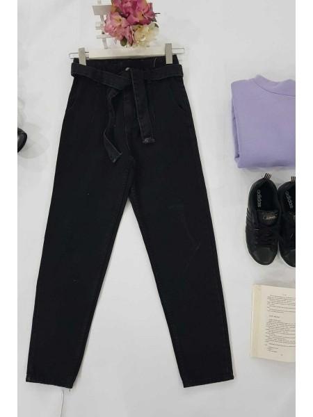 Mom Jeans -Black