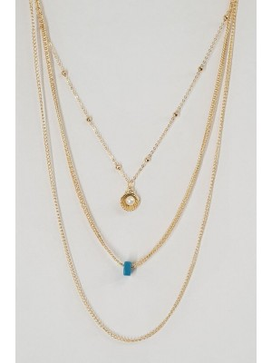 Pearl Necklace -Gold