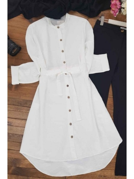 Connected Tunic   -White