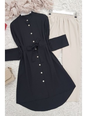 Connected Tunic -Black
