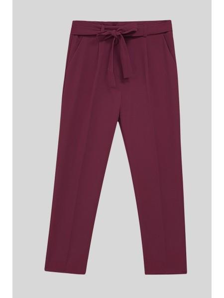 Belt Pants   -Dried rose