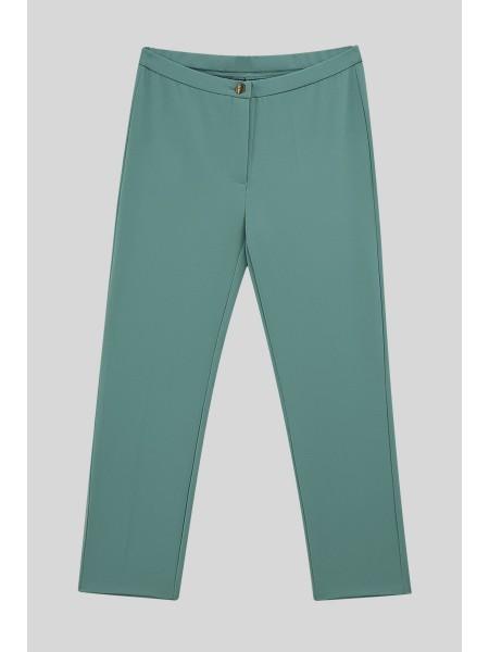 Lycra Double Fabric Trousers  -Mint Color