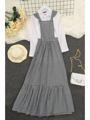 Gardener Long Dress -Black