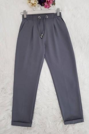Mevsimlik Havuç Pantolon -Gri