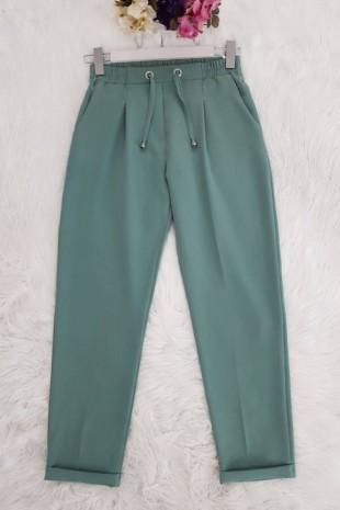 Mevsimlik Havuç Pantolon -Mint