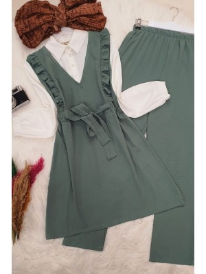 Shirt Garnish Ayrobin Set -Green