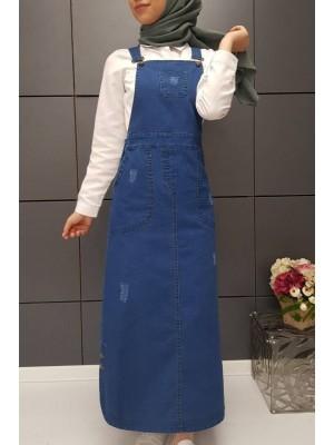 Jeans Slopet -Navy blue