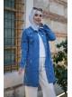 Pocket Denim Jacket  -Blue