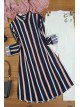Striped Tunic  -Pink