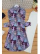 Ethnic Pattern Tunic -Lilac