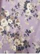 Floral Printed Half Button Diagonal Tunic  -Cherry Color