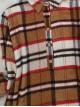 Half Button Lumberjack Tunic  -Snuff