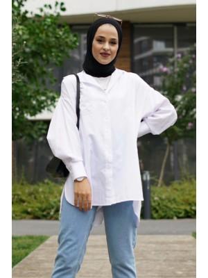 Pocket Shirt -White