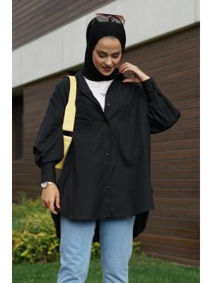 Pocket Shirt  -Black