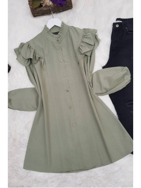 Lace Shirt -Green