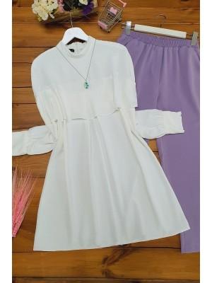 Shabby Ayrobin Tunic -White