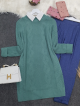 Hair Knit Knitwear Tunic -Mint Color