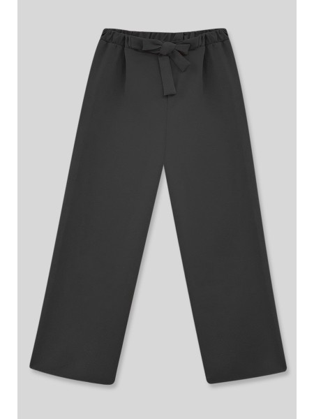 Belt Pants -Black