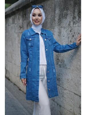 Denim Jacket   -Blue