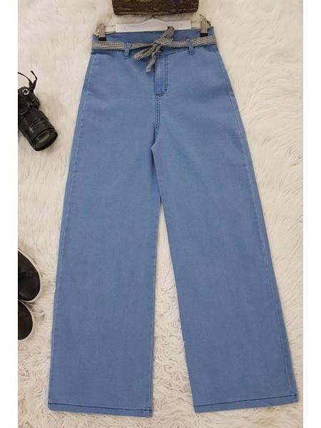 Lycra Pants-Blue