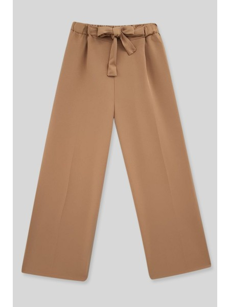 Belt Pants -Mink color