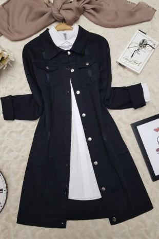 Kot Ceket  -Siyah