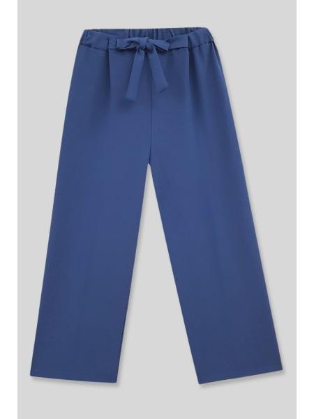 Belt Pants -İndigo